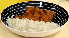 traditional Indian lamb curry