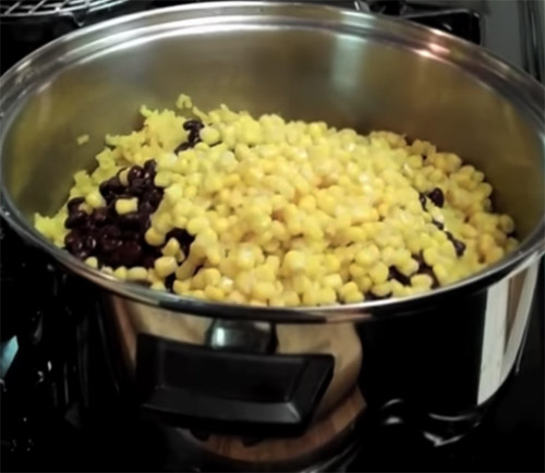 Black Beans Corn and Yellow Rice1 2