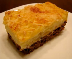 Potato and Meat Pie