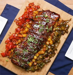 Sweet and Sour Baby Back Ribs Recipe