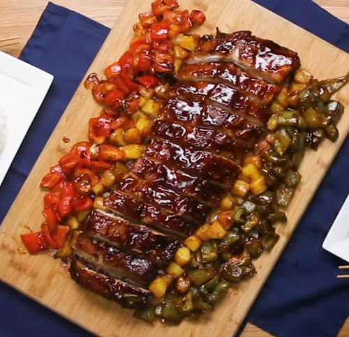 Sweet and Sour Baby Back Ribs Recipe9 1
